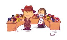 Charlie Brown's Indiana Jones: Good Grief! Why Did It Have To Be Snakes?