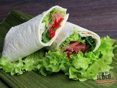 Lososový wrap - S jemne kyslastým dresingom Fresh Rolls, Ale, Ethnic Recipes, Food, Ale Beer, Essen, Meals, Yemek, Eten