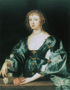 Anthony van Dyck, c. 1635 - - - Anne Crofts