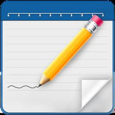 My NotePad Android app icon Cover art