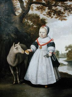 Anthonie Palamedesz, Girl and Sheep, 1655 - Leeds Castle, Kent, UK Character Creation, Character Design, Leeds Castle, Alchemy Art, Sheep And Lamb, Dutch Artists, American Women, British American, Naive Art