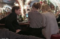 A new love interest? Vito Schnabel was seen at the White Horse Tavern in New York's West Village with Dakota Johnson and a blonde friend on December 9