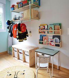 La chambre d'enfant est l'espace préféré des plus petits : ils peuvent développer leur créativité en décorant leur chambre avec goût, c'est aussi le lieu idéal pour jouer et même travailler !