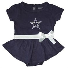 Dallas Cowboys Infant  amp  Toddler Blue Dress Dallas Cowboys Baby Clothes f01d8d21c