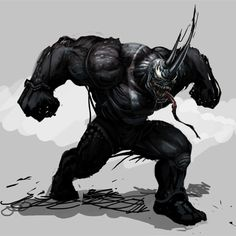 Rhino in venom symbiot