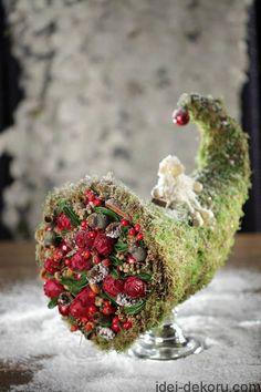 �аг��зка... Читайте також також Осіння флористика та декор. Свіжі ідеї(45 фото) Осінні віночки(40 фото) Ідеї осіннього декору (22 ФОТО) Осіння флористика і декор: свіжі ідеї … Read More Christmas Booth, Christmas Love, Christmas Colors, Rustic Christmas, Christmas Wreaths, Christmas Decorations, Christmas Ornaments, Mery Crismas, Advent