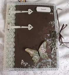 Bobbij's Gallery: Altered Composition book/Journel