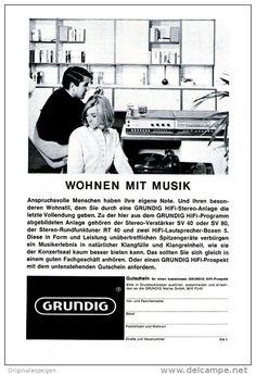 Original-Werbung/ Anzeige 1966 - 1/1-SEITE - GRUNDIG HIFI STEREOANLAGE - ca. 150…