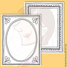 Document Page Hand Drawn Border 8x11 Digital Pencil Decorative Black Doodle Digital Picture Frame Retro Illustration Rectangular Shape 10564, by May PL Digital Art, $6.20 USD for 7 clip art pieces. #Document #Page #Hand #Drawn #Border #Digital #Pencil #Decorative #Black #Doodle #Digital #Picture #Frame #Retro #Illustration #Rectangular #Shape