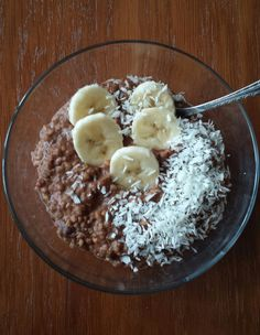 Gluten Free Recipes, Diet Recipes, Healthy Recipes, Good Food, Yummy Food, Breakfast For Dinner, Acai Bowl, Food And Drink, Menu