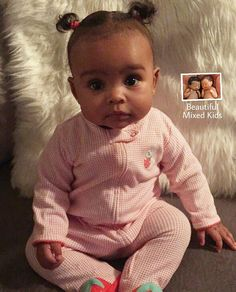 Britain Olivia - 14 Months • African American, Native American, Italian & French ❤