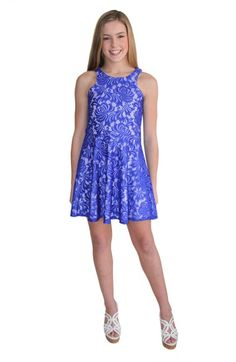 Sally Miller 'The Tracey' Lace Sleeveless Dress (Big Girls) Dresses For Tweens, Outfits For Teens, Girl Outfits, Girls Dresses, Middle School Dance Dresses, School Dresses, School Dances, Teen Clothing Stores, Teenage Clothing