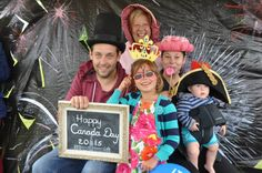 Over 200 local residents dropped by our booth on Canada Day to say hello and get a photo keepsake of the day. - 2015