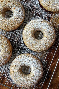Lemon- Buttermilk Doughnuts