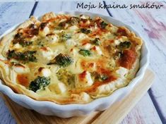 Quiche, Feta, Macaroni And Cheese, Breakfast, Ethnic Recipes, Pies, Eat, Morning Coffee, Mac And Cheese