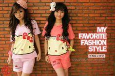 Hello Kitty Suit Hoodie-dpt atasan LD 97 cm celana L-60,000