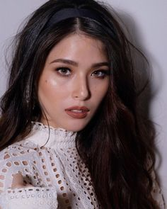 Best Hairstyles of the Month - Kylie Padilla Encantadia Costume, Pretty Face, How To Look Pretty, Kylie Padilla, Yassi Pressman, Filipina Beauty, Crimped Hair, Nadine Lustre, Loose Waves