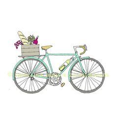 Picnic Bike - Wine Bike - Napa Bike