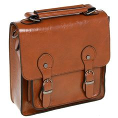 Tan square satchel www.beehappyhome.co.uk