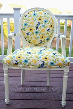 Craigslist Chair Makeover #makeover #craigslist #chair