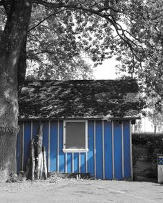 Karl Seitinger, Blue Hut on ArtStack Cabin, House Styles, Outdoor Decor, Artwork, Artist, Photography, Blue, Home Decor, Bregenz
