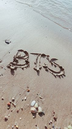 Srslye trying to advertise BTS at the beach