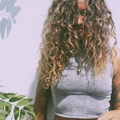 Natural Tips For Curly Hair