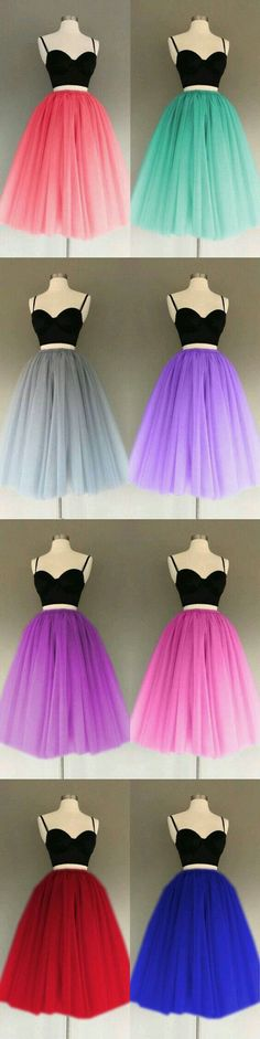 A Line Two Piece Homecoming Dresses Short Tulle Prom Gowns Pretty A Line Tulle Homecoming Dress Two Piece Prom Short Dress,So Cute,love the tutu skirt Cute Prom Dresses, Trendy Dresses, Dance Dresses, Homecoming Dresses, Fashion Dresses, Formal Dresses, Prom Gowns, Dresses Dresses, Dress Prom