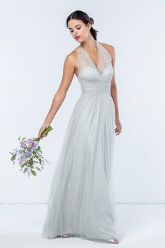 *Watters,340, Eucalyptus, Sz 10, $224 Available at Debra's Bridal Jacksonville, FL 32256 Contact us to make an Apt. (904) 519 9900