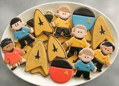 Biscoitos Star Treek