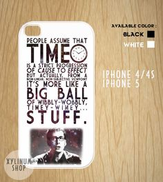 Doctor Who Quotes Cool Case Available for Iphone 4,iphone 4s case,iphone 5 case and Samsung Galaxy S3 and S4 case on Etsy, $15.00