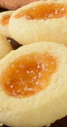 Apricot Cream Cheese Thumbprint Cookies Recipe