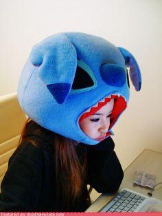 cute kawaii stuff - Giant Stitch Head