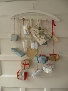 Brown paper packages tied up with string :-)