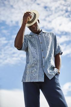 c1e79a0a3c Hana Rue Linen Camp Shirt - Tommy Bahama #MensFashionSummer Férfi Divat,  Ruhák, Stílus