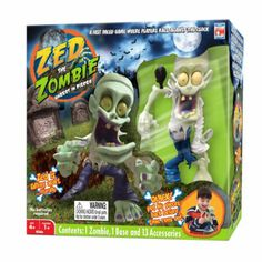 Zed The Zombie- Unrest in Peace Game Set- looks pretty cool!