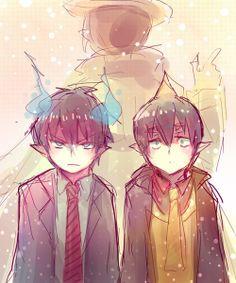 Rin & Amaimon | Ao no Exorcist | Anime & Manga