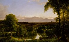 Thomas Cole - View on the Catskill—Early Autumn