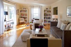 Livingroom - furniture placement