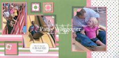 .scrapbook layout Kids Girls, Layout, Craft Ideas, Scrapbook, Baseball Cards, Crafts, Manualidades, Page Layout, Scrapbooking