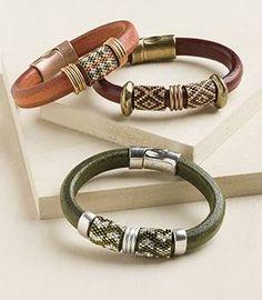 Anéis de Miçangas Entrelaçadas para Braceletes                                                                                                                                                                                 Mais