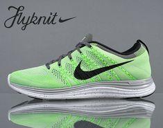 online store 1a1a2 e258f Nike Flyknit Lunar1+ Electric Green Black 554887 300