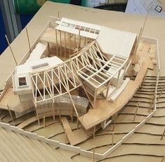 ✩ Check out this list of creative present ideas for tennis players and lovers Maquette Architecture, Concept Models Architecture, Timber Architecture, Architecture Student, Landscape Architecture, Architecture Design, Fibreglass Roof, Arch Model, Roof Design