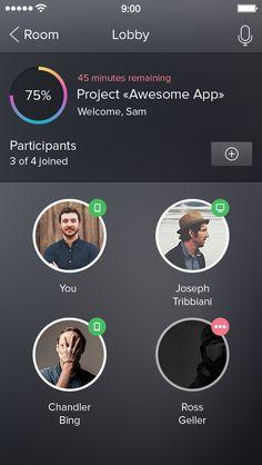 Lobby #appdev #UI #UX #mobileapp #design