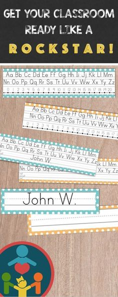 Kindergarten   Primary Lined Paper  Print Handwriting practice - editable lined paper