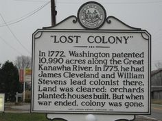 Image result for mason county wv historical markers fort blair""