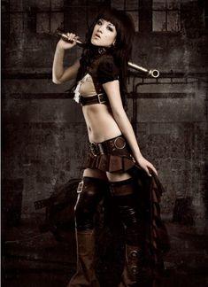 #SteampunkGirl #sexygirl #hotgirl