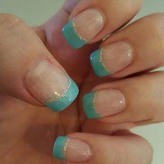 These are my fav nails yet! #sns #nailglamour #nailglamor #nailbling