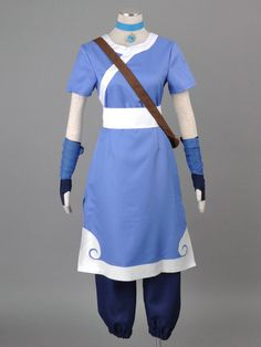 katara water tribe Cosplay by procosplay, $85.00 brilliant idea of the scrunched pant things underneath
