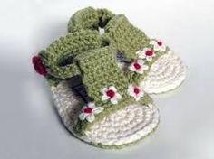 Resultado de imagen de mocasines bebe crochet lanas y ovillos